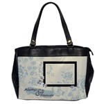 Weddings and More Purse - Oversize Office Handbag (One Side)
