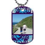 Fantasia father and son  dog tag - Dog Tag (Two Sides)