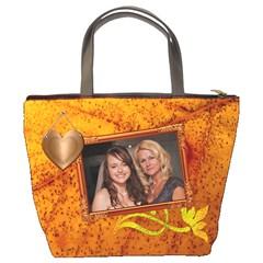 Copper Family Bucket Bag By Lil    Bucket Bag   Vmyoc8v75rij   Www Artscow Com Back