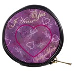 I Heart you purple - Mini Makeup Bag