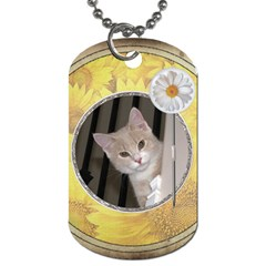 Enjoy The Little Things 2 Sided Dog Tag By Lil    Dog Tag (two Sides)   I434cxnut6jk   Www Artscow Com Front