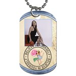 Believe in Yourself 2-Sided Dog Tag - Dog Tag (Two Sides)