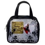 Love, Praise, Live Classic Handbag - Classic Handbag (One Side)