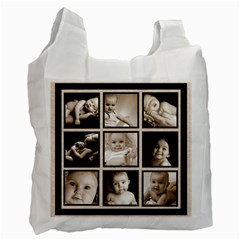 Fantasia Classic Multi Frame  Double Sided Recycle Bag By Catvinnat   Recycle Bag (two Side)   3pa6jqf9gffu   Www Artscow Com Front