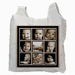 Fantasia Classic Multi Frame  Double Sided Recycle Bag By Catvinnat   Recycle Bag (two Side)   3pa6jqf9gffu   Www Artscow Com Back