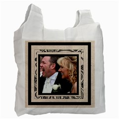 Fantasia Bride & Groom Wedding Double Side Recycle Bag By Catvinnat   Recycle Bag (two Side)   7wmzc1ia4n73   Www Artscow Com Front