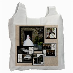 Fantasia Wedding Multi Frame Recycle Bag 2 Sides By Catvinnat   Recycle Bag (two Side)   B32r9tucwbtu   Www Artscow Com Front