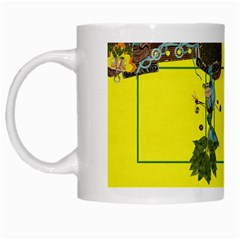 Monkey Business Mug by Cherish Collages Left