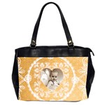 Lacy Heart sunshine oversized office bag 2 - Oversize Office Handbag (2 Sides)