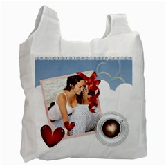 Love By Wood Johnson   Recycle Bag (two Side)   00ccy4igp22q   Www Artscow Com Front