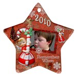Seth christmas ornament - Ornament (Star)