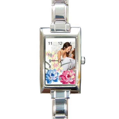 Love By Wood Johnson   Rectangle Italian Charm Watch   Oqf7iadklvy9   Www Artscow Com Front