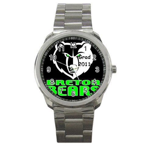 Watch For Grad 2011 By Chantel Reid Demeter   Sport Metal Watch   3mktsb8x7xx5   Www Artscow Com Front