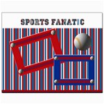 sports fanatic 10x8 canvas template - Canvas 8  x 10