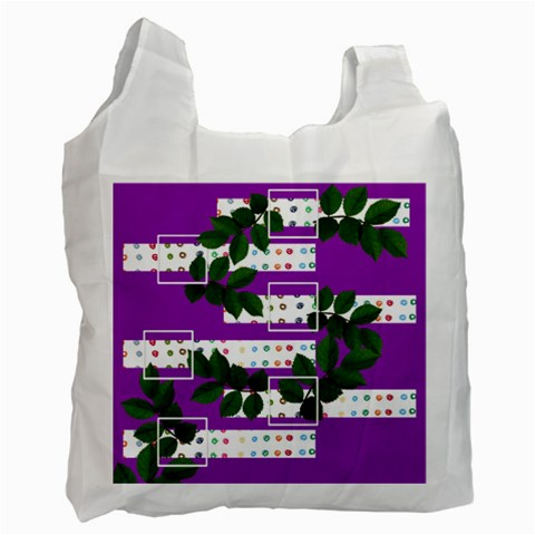 Shopping Bag By Brookieadkins Yahoo Com   Recycle Bag (one Side)   Iuxqieaqb1hu   Www Artscow Com Front