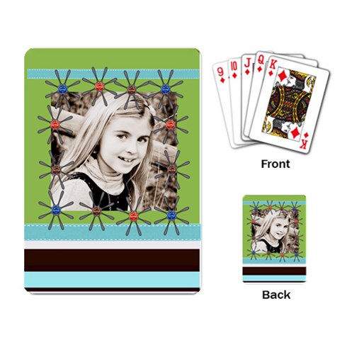 Playing Cards Template By Danielle Christiansen   Playing Cards Single Design   Dilbmetifaao   Www Artscow Com Back