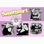sweet heart canvas 18x12 - Canvas 12  x 18