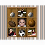 sports fanatic 24x18 canvas template - Canvas 18  x 24