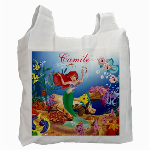 Ariel   Camile By Sandra   Recycle Bag (one Side)   7khskq40nvse   Www Artscow Com Front