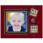 100% all boy canvas 11x14 - Canvas 11  x 14