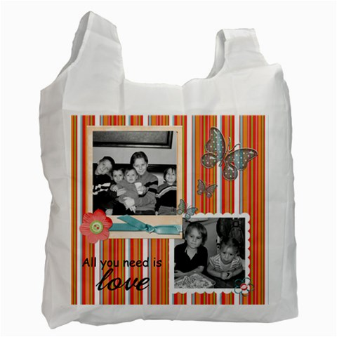 Recycle Bag 2 By Martha Meier   Recycle Bag (one Side)   25r94jsa74pj   Www Artscow Com Front