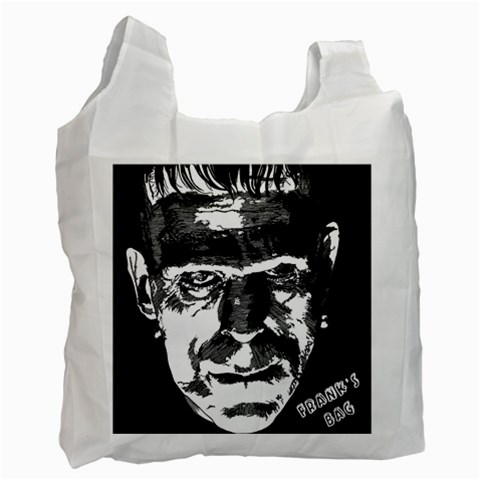 Frank Movie Bag By Jorge   Recycle Bag (one Side)   Qpzoodva0x8u   Www Artscow Com Front
