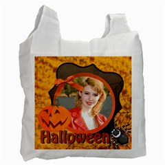 Halloween Bag By Joely   Recycle Bag (two Side)   3ef0uplaz55t   Www Artscow Com Front