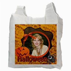 Halloween Bag By Joely   Recycle Bag (two Side)   3ef0uplaz55t   Www Artscow Com Back