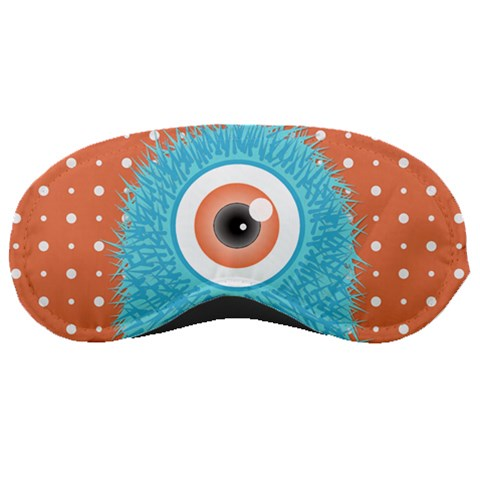 Monster Sleep Mask 4 By Martha Meier   Sleeping Mask   8xq19slmtjkm   Www Artscow Com Front