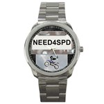 Need For Speed Sport Metal Watch