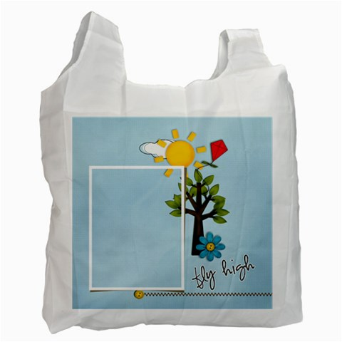 Recycle Bag (one Side )template Summer3 By Jennyl   Recycle Bag (one Side)   6t25z5vfxmtw   Www Artscow Com Front