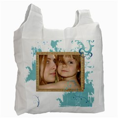 Kids By Wood Johnson   Recycle Bag (two Side)   X152y78c2t0m   Www Artscow Com Front