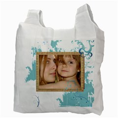 Kids By Wood Johnson   Recycle Bag (two Side)   X152y78c2t0m   Www Artscow Com Back