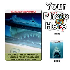Jaws #2 By Mark Chaplin   Playing Cards 54 Designs   I7jloutgjvj9   Www Artscow Com Front - Heart9