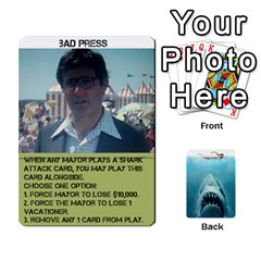 Jaws #2 By Mark Chaplin   Playing Cards 54 Designs   I7jloutgjvj9   Www Artscow Com Front - Club10