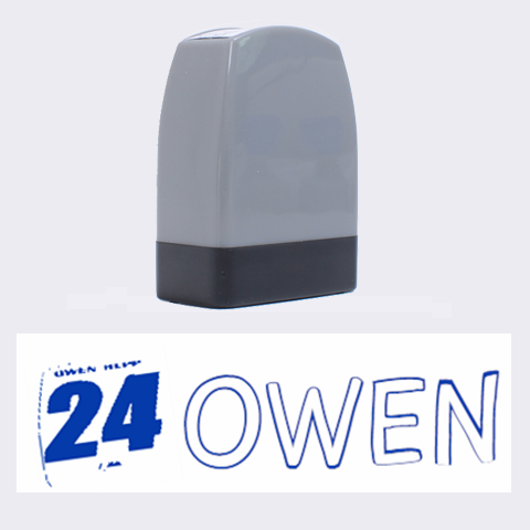 Owen By Tammy   Name Stamp   Z525n5roebdm   Www Artscow Com 1.4 x0.5  Stamp