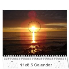 Calendar By Amy Barton   Wall Calendar 11  X 8 5  (12 Months)   4xbcw0388we7   Www Artscow Com Cover