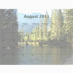 Calendar By Amy Barton   Wall Calendar 11  X 8 5  (12 Months)   4xbcw0388we7   Www Artscow Com Aug 2011