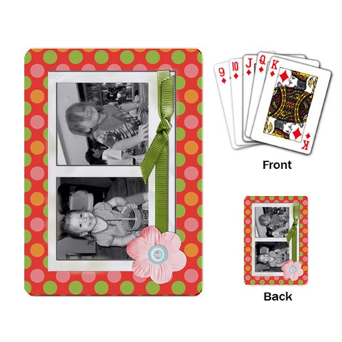 Deck Of Cards 2 By Martha Meier   Playing Cards Single Design   J3v6l1gp7fx4   Www Artscow Com Back