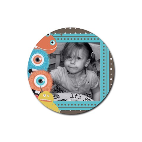 Drink Coaster 2 By Martha Meier   Rubber Coaster (round)   Iy9nh4lqyime   Www Artscow Com Front