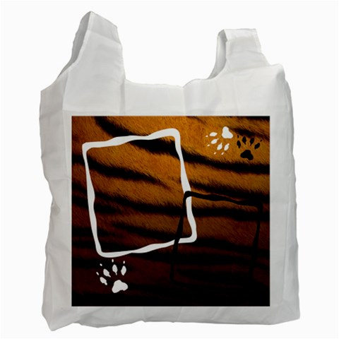 Skins Animals    Bag By Carmensita   Recycle Bag (one Side)   M6o5foah3c7s   Www Artscow Com Front