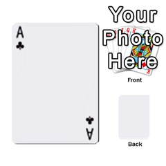 Ace Deck Of Cards By Vicki Habel Runnoe   Playing Cards 54 Designs   40o21fsuag5c   Www Artscow Com Front - ClubA