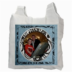 Irish Blessing  Recycle Bag May The Road Rise Up To Meet You By Catvinnat   Recycle Bag (two Side)   Rc5136iv3tal   Www Artscow Com Back