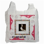 cupcake pinkalicious recycle bag - Recycle Bag (Two Side)