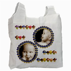 Cupcakes Family  Recycle Bag By Catvinnat   Recycle Bag (two Side)   Tvpd2zuglo7u   Www Artscow Com Front