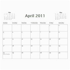 Tejas Calender By Sreelatha   Wall Calendar 11  X 8 5  (18 Months)   Zukyxp9pds7m   Www Artscow Com Apr 2011