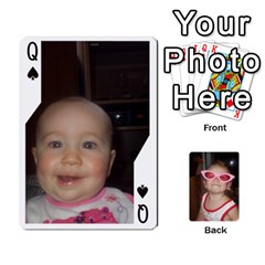Queen Avery Cards By Pat   Playing Cards 54 Designs   0u3rpi1f9iuv   Www Artscow Com Front - SpadeQ
