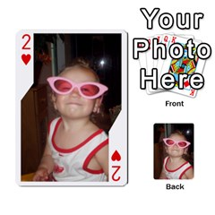 Avery Cards By Pat   Playing Cards 54 Designs   0u3rpi1f9iuv   Www Artscow Com Front - Heart2