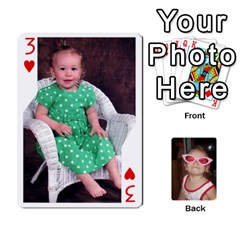 Avery Cards By Pat   Playing Cards 54 Designs   0u3rpi1f9iuv   Www Artscow Com Front - Heart3