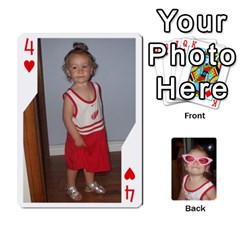 Avery Cards By Pat   Playing Cards 54 Designs   0u3rpi1f9iuv   Www Artscow Com Front - Heart4